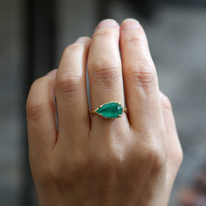 Colombian Emerald ring