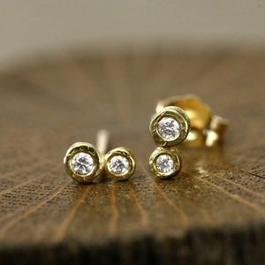 Double Bezel studs (0.08ct)