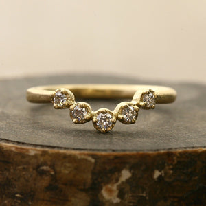 Muguet 5 diamond Ring