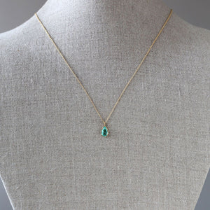 Paraiba tourmaline necklace
