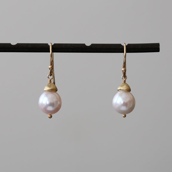 Akoya Baroque Earrings