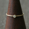 1.5mm diamond textured ring