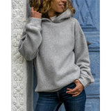 Fashion Hooded Long Sleeve Sweatshirt