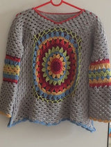 Long Sleeves Crocheted Casual Sweaters