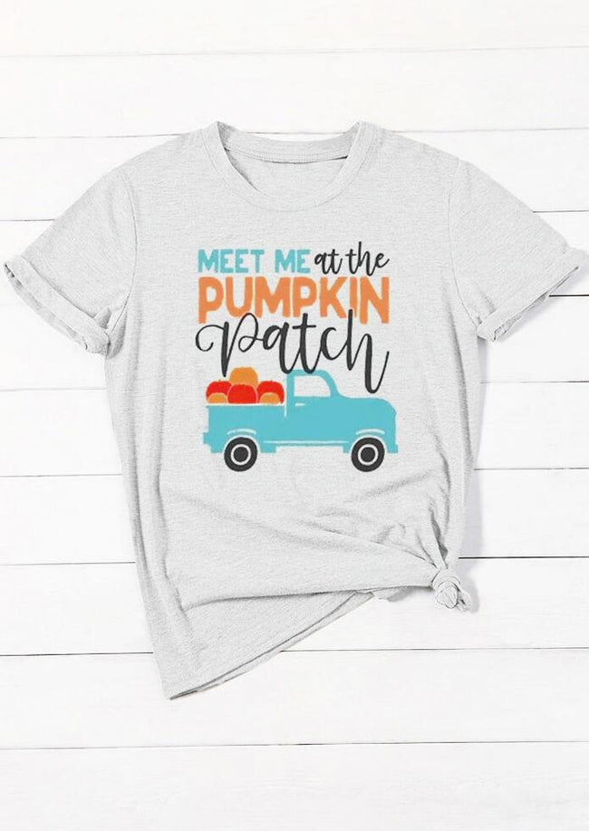 Meet Me At The Pumpkin Patch T-Shirt Tee