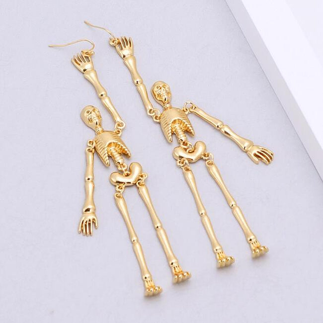 Halloween Skeleton Women's Earrings