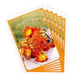 Hallmark Thanksgiving Cards Assortment, Fall Icons (6 Cards with Envelopes)