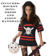 Friday The 13th Secret Wishes Sexy Miss Voorhees Mini-Dress And Handbag Costume