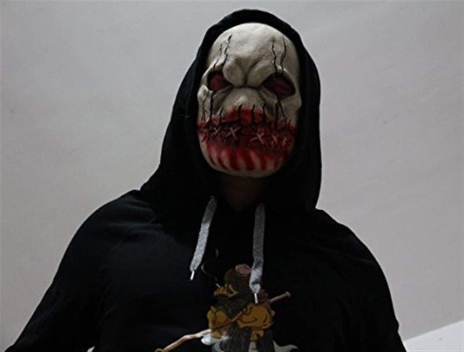 HongTeng Halloween Mask Death Zombie Scary Demon Cosplay Costume Dress Up