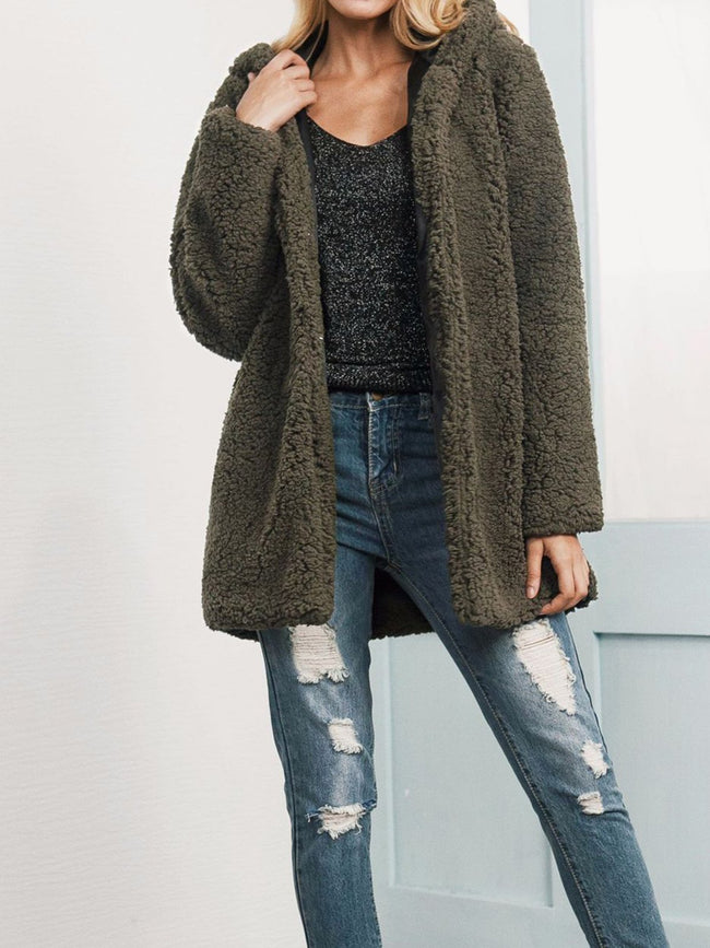 Long Sleeve Sweet Appliqued Coats