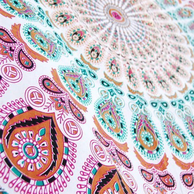 Hippie Tapestry, Hippy Mandala Bohemian Tapestries Wall Hanging Ethnic Decorative