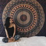 The Boho Street - Exclusive 100% Cotton Mandala Tapestry