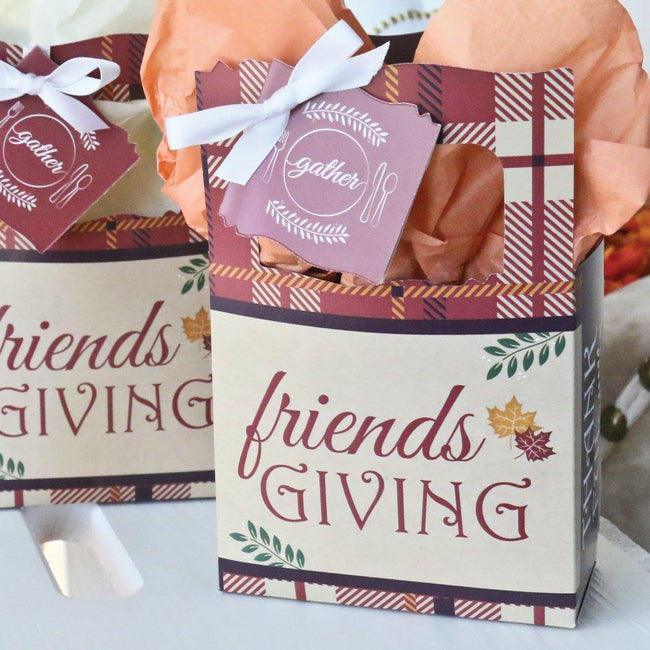 Personalized Friends Thanksgiving Feast