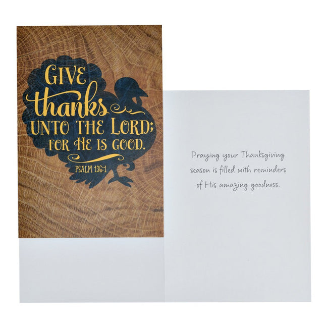 Thanksgiving - Inspirational Boxed Cards