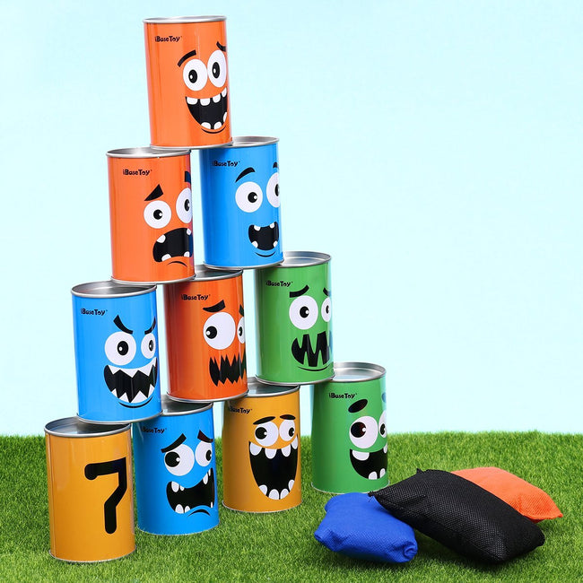 iBaseToy Carnival Games Bean Bag Toss Game for Kids & Adults