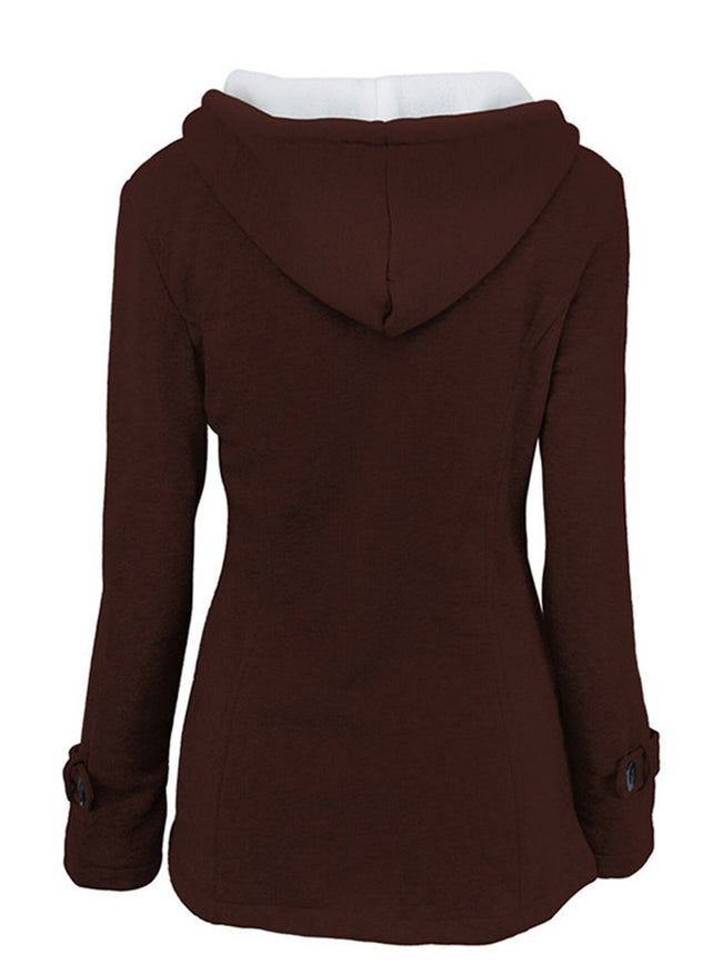 Plus Size Casual Long Sleeve Jackets