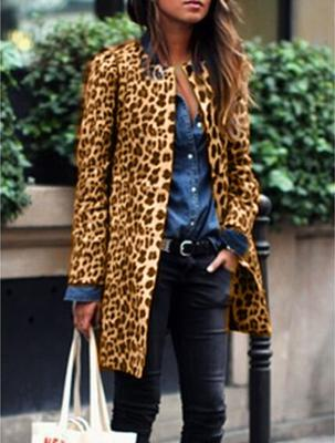 Leopard Long Sleeve Outerwear