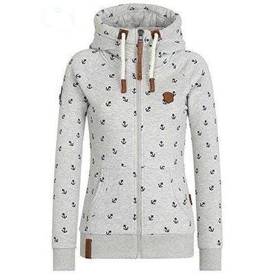 Solid Casual Long Sleeve Hoodie Plus Size Cotton Hoody