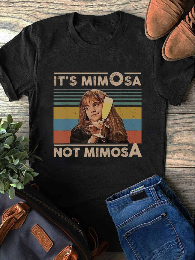 It's MimOsa Not MimosA Funny Drink Tee