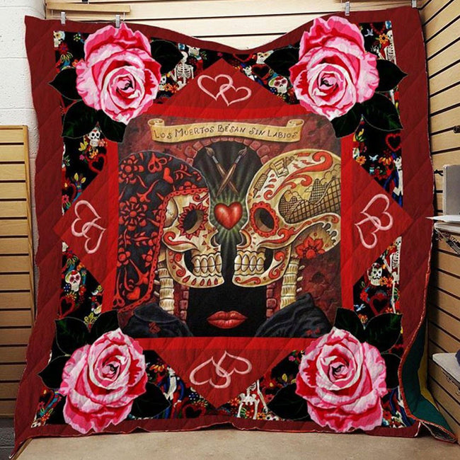 Skull Wedding 3D Blanket Quilt