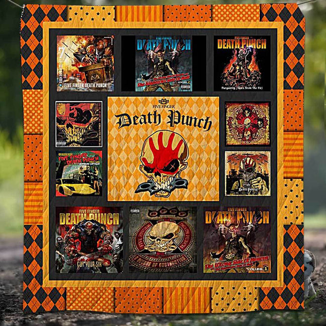 Five Fingers Death Punch Blanket Quilt