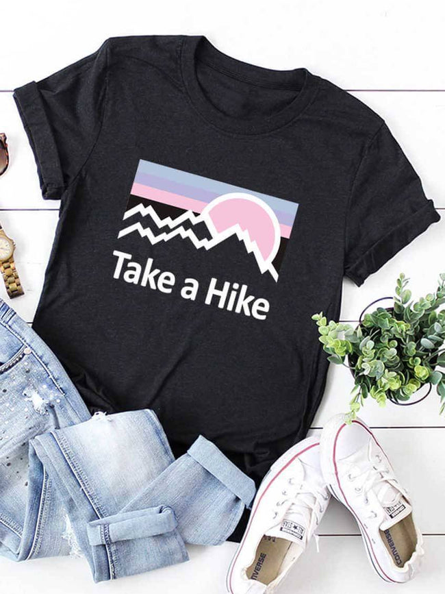 Take A Hike In Moutains T-shirt
