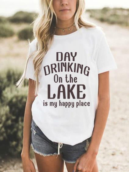 Day Drinking On The Lake T-shirt