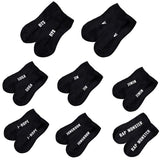 Unisex Women Cotton Invisible Ankle Low Boat Socks Kpop BTS Letters Printed Fans