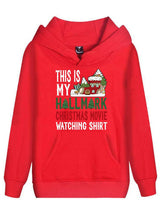 This Is My Hallmark Christmas Hoodie