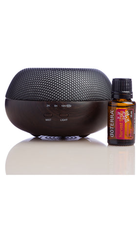 DoTERRA Brevi Diffuser with free Harvest spice Essential oil - Quartz & Co Australia