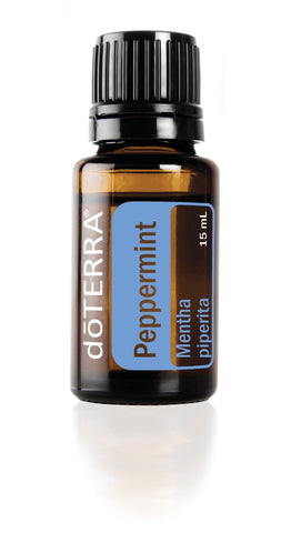 Peppermint 15ml - Doterra single essential oil - Quartz & Co Australia