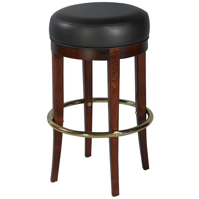 John Collection Wood Bar Stool