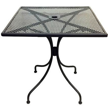 "27"" X 27"" Metal Indoor/Outdoor Table"