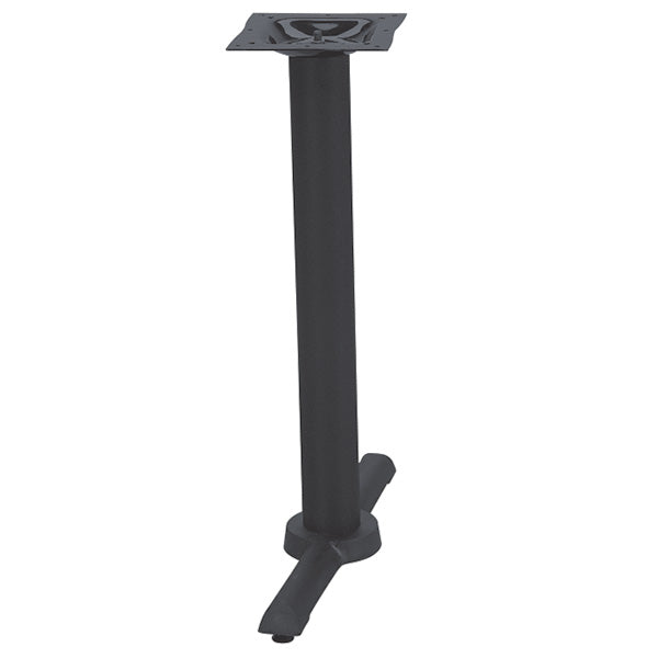 Black Flat End Restaurant Table Base