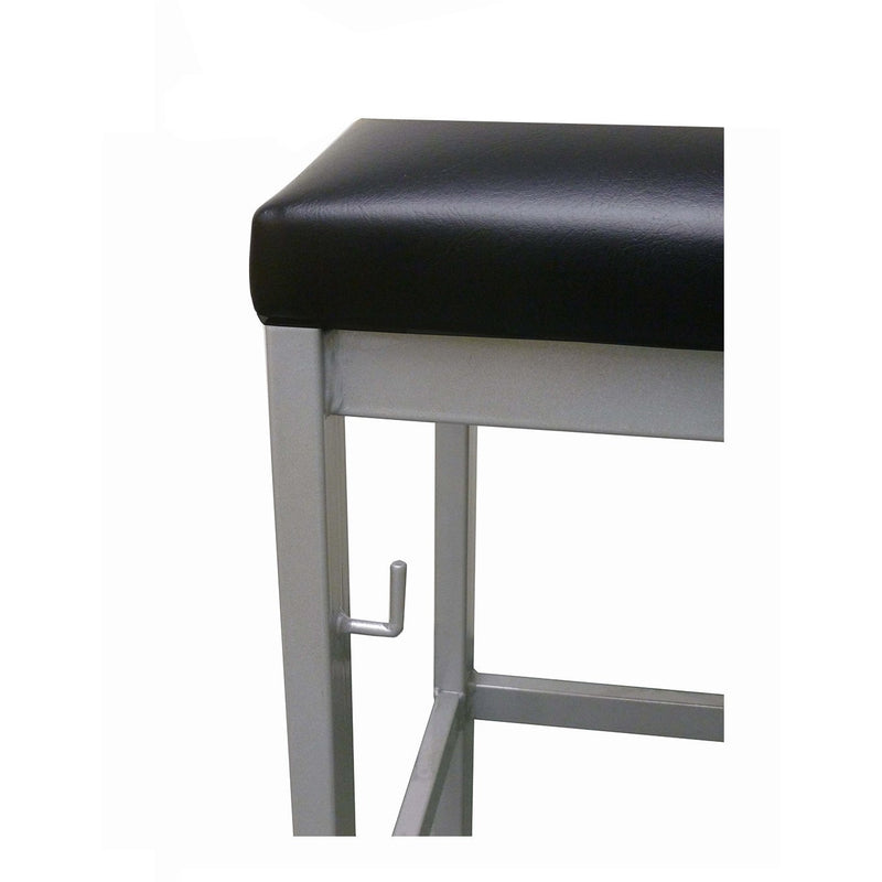 Santiago Metal Backless Bar Stool
