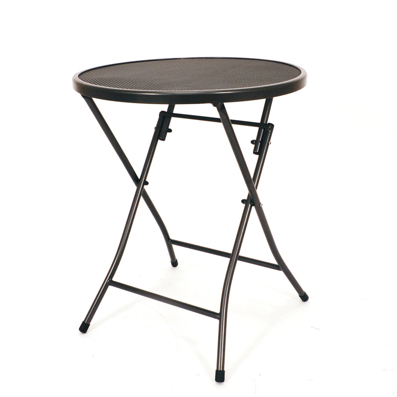 Round Folding Mesh Table