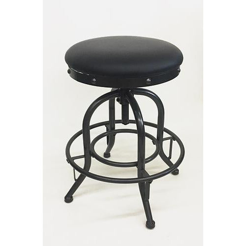 Bennett Metal Adjustable Bar Stool