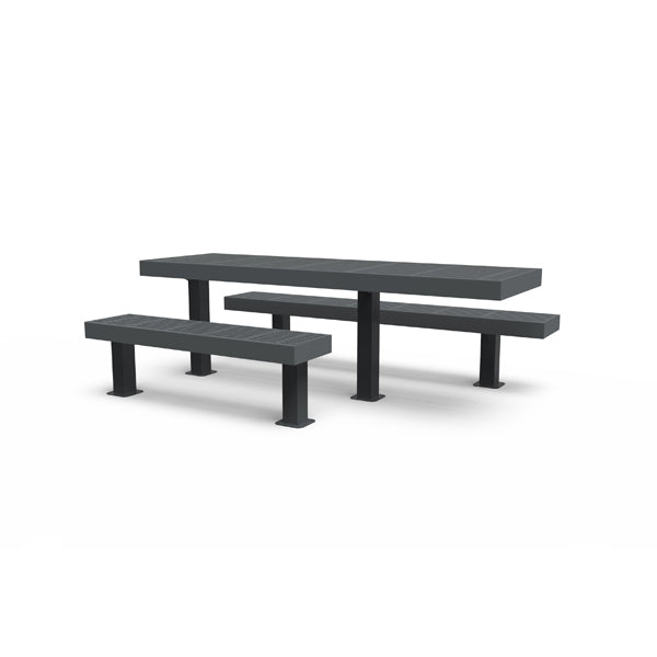 8′ ADA Side by Side Picnic Table – Designer Series
