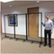 Social Distancing Clear Room Safety Barriers Dividers - Easy Sterilization