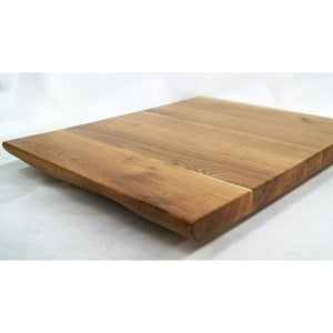 Plank White Oak Live Edge Natural Table Top