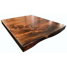 Pinelog Walnut Table Top