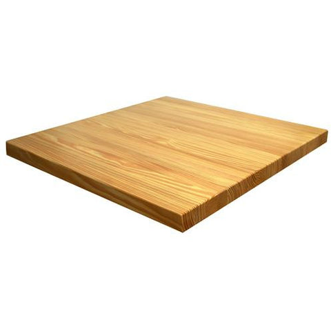 Clear Pinewood Table Top