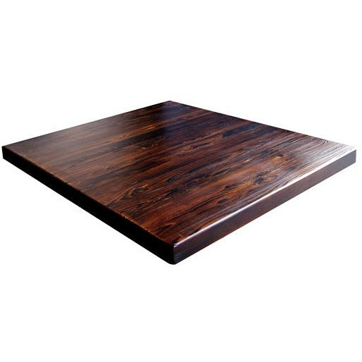 Pinewood Carbonized Table Top