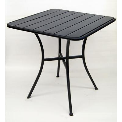 "28""x28"" Metal Indoor/Outdoor Table"