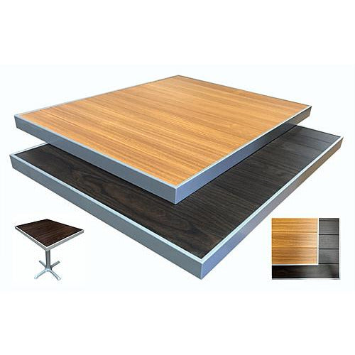 Aluminum Table Top With Gray Frame