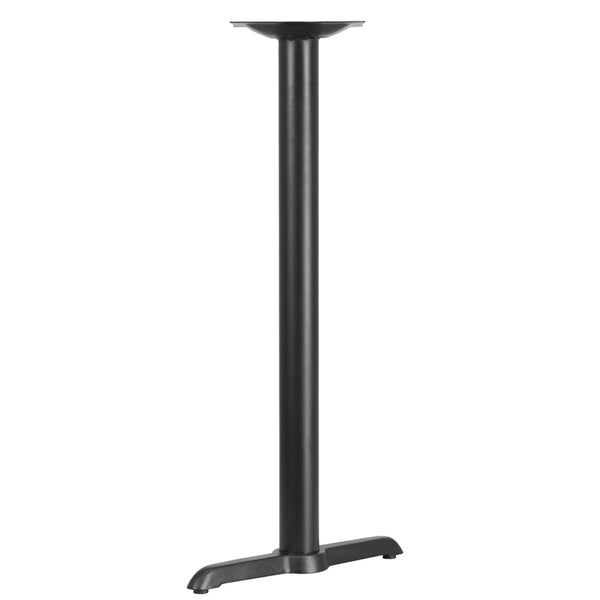 Black Restaurant Table T-Base