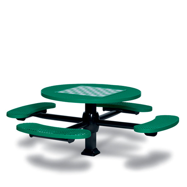 Game Tables – 46 inch Round Signature Style – 4 Seats – Superior Frame – Specialty Series – Inground