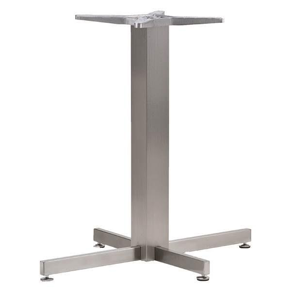 Stainless Steel Cross Restaurant Table Base