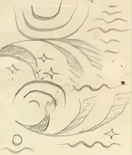 Load image into Gallery viewer, Doodle by Charles Burchfield