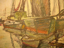 "Load image into Gallery viewer, ""Ships"" by Emile A. Gruppe"